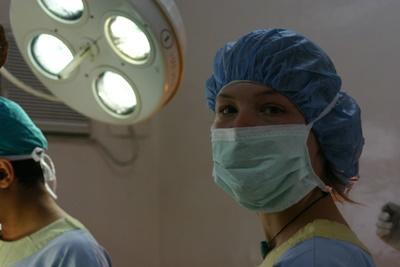 Volontaire en stage chirurgie au Népal