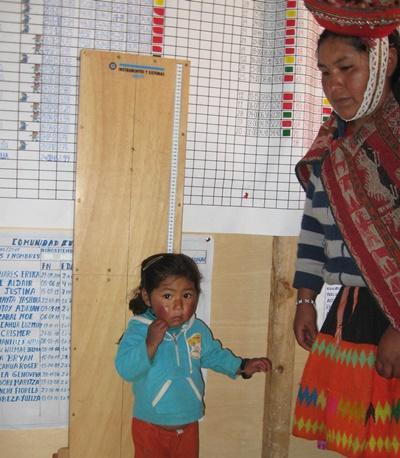 Projet nutrition au Pérou