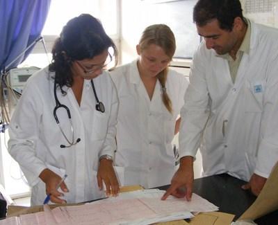 Bénévole sage-femme en hôpital au Maroc