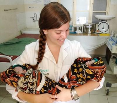 Volontaire sage-femme en Tanzanie
