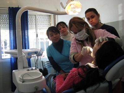 Stagiaire dentiste humanitaire en Argentine