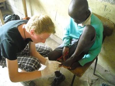 Stagiaire infirmier au Kenya