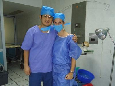 Stagiaires en mission soins infirmiers au Méxique