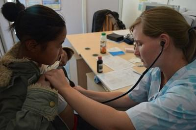 Mission infirmière Humanitaire en Asie