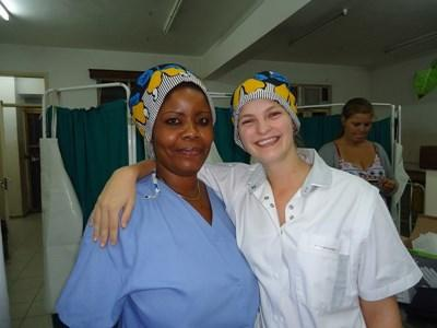 Volontaire en soins infirmier en Afrique
