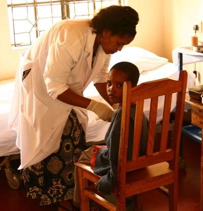 Volontaire infirmier en stage en Tanzanie