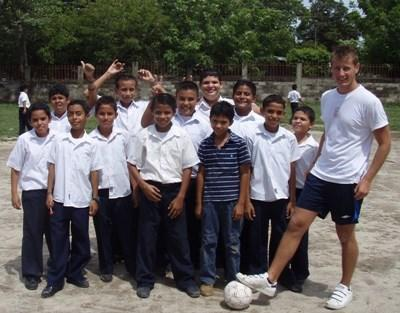 Coaching soccer in Costa Rica