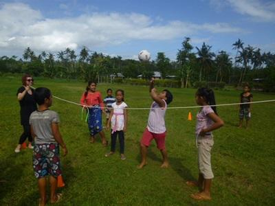 Coaching Sports in Schools in Samoa with Projects Abroad