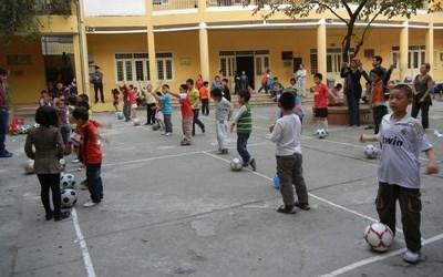 Sports volunteer in Vietnam