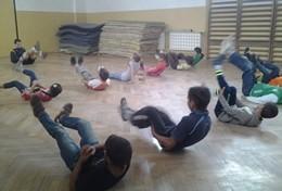Professeur d'éducation physique bénévole à l'étranger : Roumanie