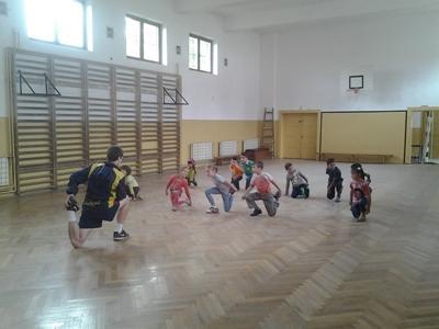 Volontaire en mission encadrement sportif en Roumanie