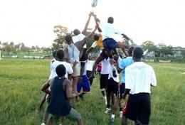 Encadrement sportifRugby à l'étranger : Ghana