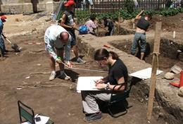 Chantier de fouilles pour les professionnels archéologiques à l'étranger : Roumanie