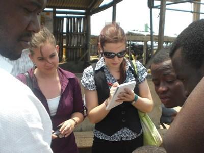 Action humanitaire Droit de l'Homme au Ghana
