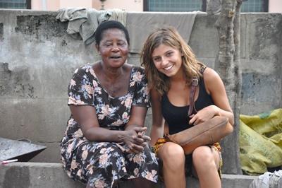 Aide humanitaire au Ghana