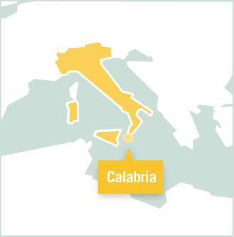 Carte des missions de volontariat aux Italie