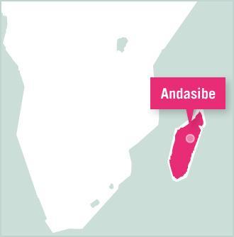 Carte des missions de volontariat au Madagascar