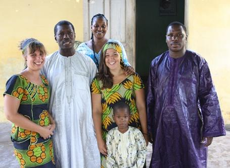 Bénévolat au Sénégal