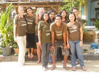 Mission de bénévolat en Asie